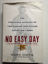 No Easy Day by Mark Owen  The Mission That Killed Osama Bin Laden 2012