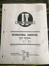 I&T Service Manual Ih 37 International Farmall 766 826 966 1026 1066 Repair
