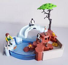 Playmobil 4013 Wildlife Penguin Habitat Superset - Incomplete With Extra Animals