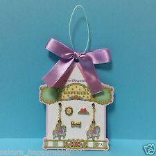 Tokyo Disney Resort New pierced earrings Rapunzel rose ribbon Carousel Horse FS