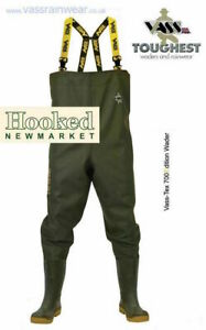 Vass Tex 700 NOVA Chest Waders  -  ALL SIZES 6-13  NEXT DAY DELIVERY