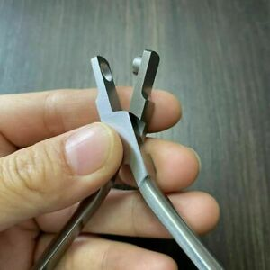 Dental Braces Punch Hole Invisible Plier Orthodontic Forcep Quality Good