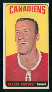 CLAUDE PROVOST 1964-65 TOPPS TALLBOY 1964-65 NO 23 VG+  40336