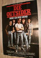 A0 Filmplakat  DIE OUTSIDER , MATT DILON,PATRIK SWAYYZE,ROB LOWE