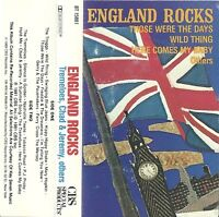 England Rocks - Various Artists (Cassette 1988 CBS Special) Troggs - Wild Thing