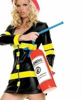 Leg Avenue A1500 Inflatable Red Fire Fighter Extinguisher Costume Accessory NEW