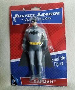 Justice League The New Frontier Batman Bendable Action Figure - DC Comics NEW