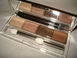 Clinique MULCH-FRENCH ROAST-NUDE ROSE-MUSHROOM All About Shadow Quad