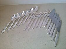 Antique Silver Plated Dessert Cuttlery from Krup-Berndorf, 1930's, 6 x 3 pieces