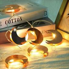LED Moon Shape Wire String Fairy Light Strip Lamp Xmas Wedding Party Home Decor