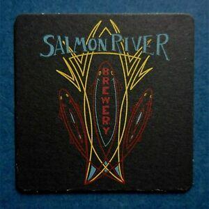 SALMON RIVER BREWERY Beer Coaster - McCall, IDAHO