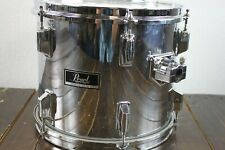 Pearl Maple Shell 12 x 10 High Tom Drum - Mirror Chrome Made in Japan #R8156