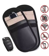 Lock Car Key Anti Theft Fob Signal Blocker Pouch Faraday Bag