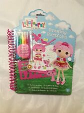 Lalaloopsy Drawing Portfolio BOOK Includes 260 Stickers 40 Pages 5 Markers NEW!