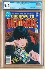 Doorway to Nightmare #1 1st Madame Xanadu 1978 DC CGC 9.4 White