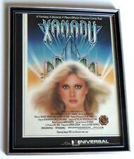 Xanadu Vintage Movie Ad Framed 1980 Original Olivia Newton-John Marquee Magazine