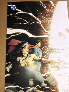 Dark Knights Metal 2  11 X 17  Poster Hand SIGNED Greg Capullo & Scott Snyder