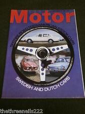 MOTOR MAGAZINE - SWEDISH & DUTCH CARS - AUG 19 1967