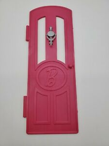 2015 Barbie Dreamhouse Dream House Replacement Part Front Door with Knocker Pink