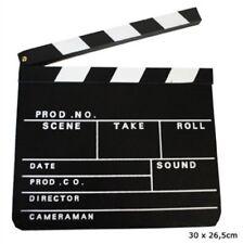 Ciak tavoletta cinematografica per riprese film set cinema ciack