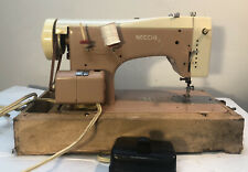 Necchi LELIA 515 Vintage Automatica Italian Sewing Machine With Carrying Case