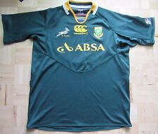 South Africa RUGBY shirt jersey by CANTERBURY 2011-2012 Springboks adult SIZE XL