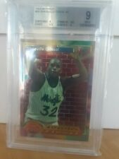 Shaquille O'Neal BGS 9 1993-94 Finest AF #99 Orlando Magic LA Lakers