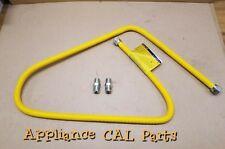 BRASSCRAFT CSSC44-72 Gas Range & Gas Furnace Flex-Line (5/8 OD (1/2 MIP x 1/2 MI
