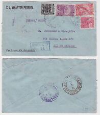 81611 seltener Luftpostbrief Brasilien Rio de Janeiro 1930