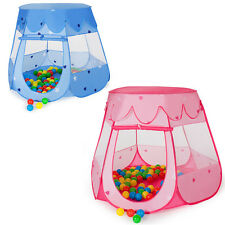Tienda para niños Tienda de campaña juegos infantil jardín + 100 bolas + bolsa N