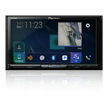 "Pioneer Avh-W4400Nex 7"" Cd Dvd Bluetooth Hd Radio Car Play 13 Band Equalizer New"