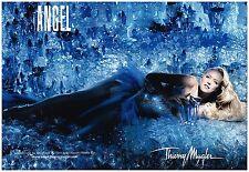 Publicité Advertising 2008 (2 pages) Parfum Angel par Thierry Mugler Naomi Watts