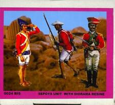 BUM Models 1/72 BRITISH SEPOY (SIPAHI) UNIT with Resin Diorama Figure Set