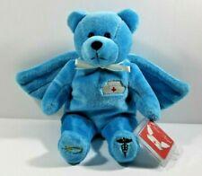 Nurse Bear Holy Bear Blue 9 inches
