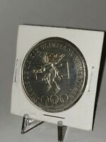 Mexico 1968 25 Pesos Silver Coin - Olympics Commemorative