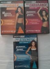 BRAND NEW MONTENEGRO FITNESS METHOD POWER / ENDURANCE / STRENGTH DVD FREE SHIP