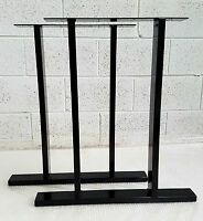 "2x Table / Bench legs Designer Metal Steel Industrial ""The Epping Leg""  UK Made"