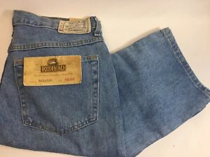 New REDHEAD - BASS PRO SHOPS  - MENS Relaxed DenIm Blue JEANS - 34 x 30 - NWT