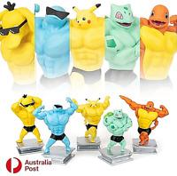 Pokemon Action Figure Pikachu Monster Muscular Ripped Ver Anime Figurine 16-19CM