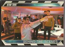 Star Trek Movie XI 2009 Behind The Scenes Chase Card B1