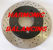 97-03 F150 4x4 Drilled Slotted Brake Rotors Harmonic Balancing Design F+R Set