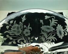 Sinclaire ABP Cut Glass Cut Etched Vase