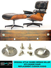 CUSHION HOOKS FOR EAMES / MILLER 670 / 671 LOUNGE CHAIR & OTTOMAN REPLACEMENT