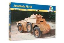 Tamiya Out Burinda Ab40 Corrazzata veicoli (italeri 1/35 Militare Serie 6482)