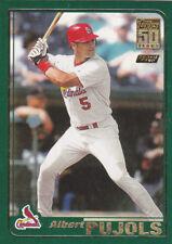 Albert Pujols ROOKIE CARD Topps RP RC Berger's Best Baseball St Louis Cardinals