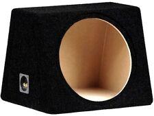 Basskiste Leerkiste schwarz  MDF Leergehäuse 50L für 38cm Subwoofer Bass