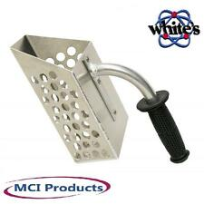 Handheld Aluminum Heavy Duty Sand Scoop w/Reverseable Rubber Handle 601-0070