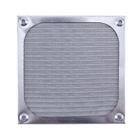 Aluminum PC Computer Fan Cooling Dustproof Dust Filter Case Grill Guard 120mm v