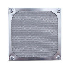 Aluminum PC Computer Fan Cooling Dustproof Dust Filter Case Grill Guard 120mm