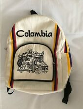 Artisanal Colombians BackPacks with Colombia Colors Flag Designs